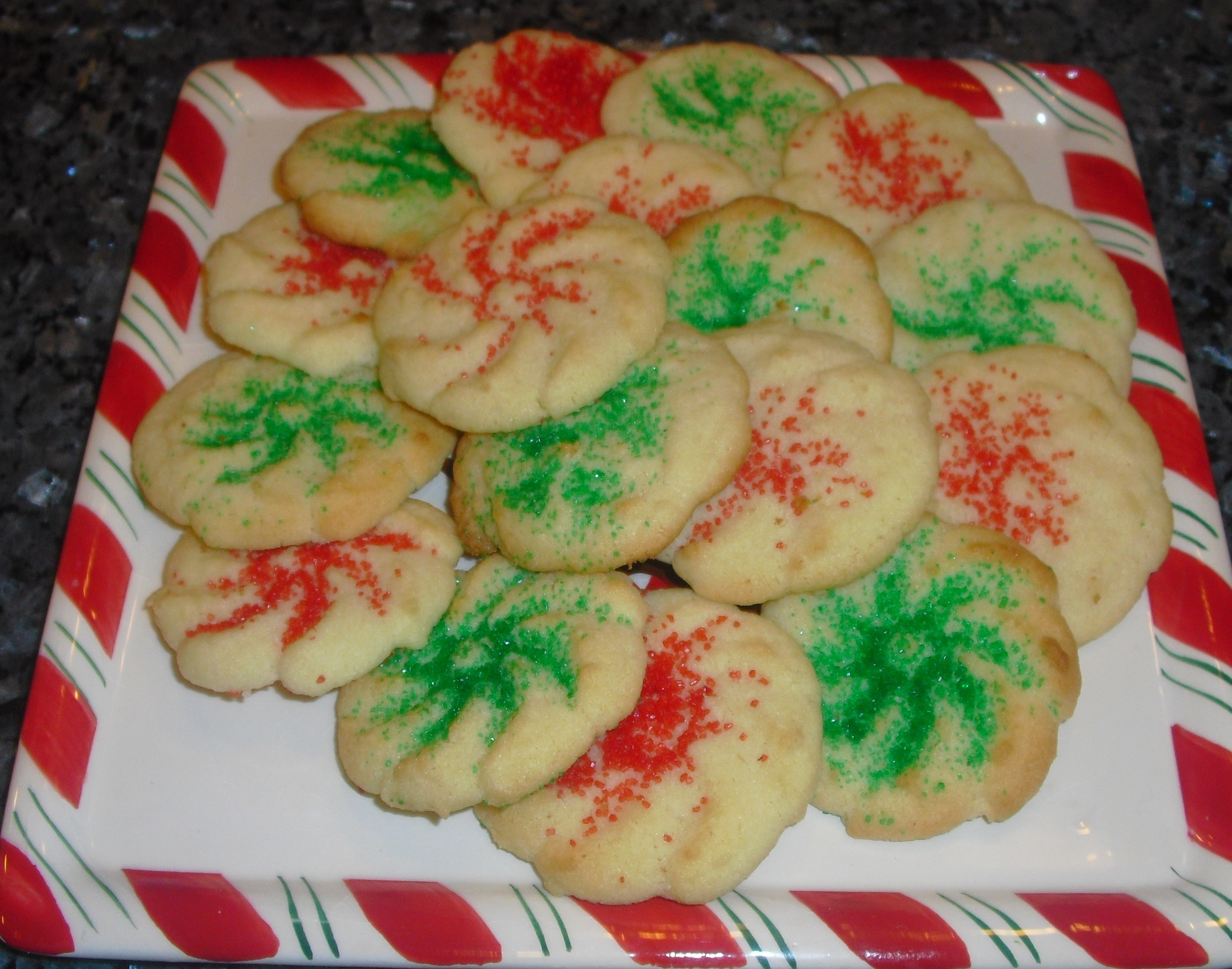 Christmas Butter Cookies  Christmas Cookies Day 7 Pressed Butter Cookies Quick
