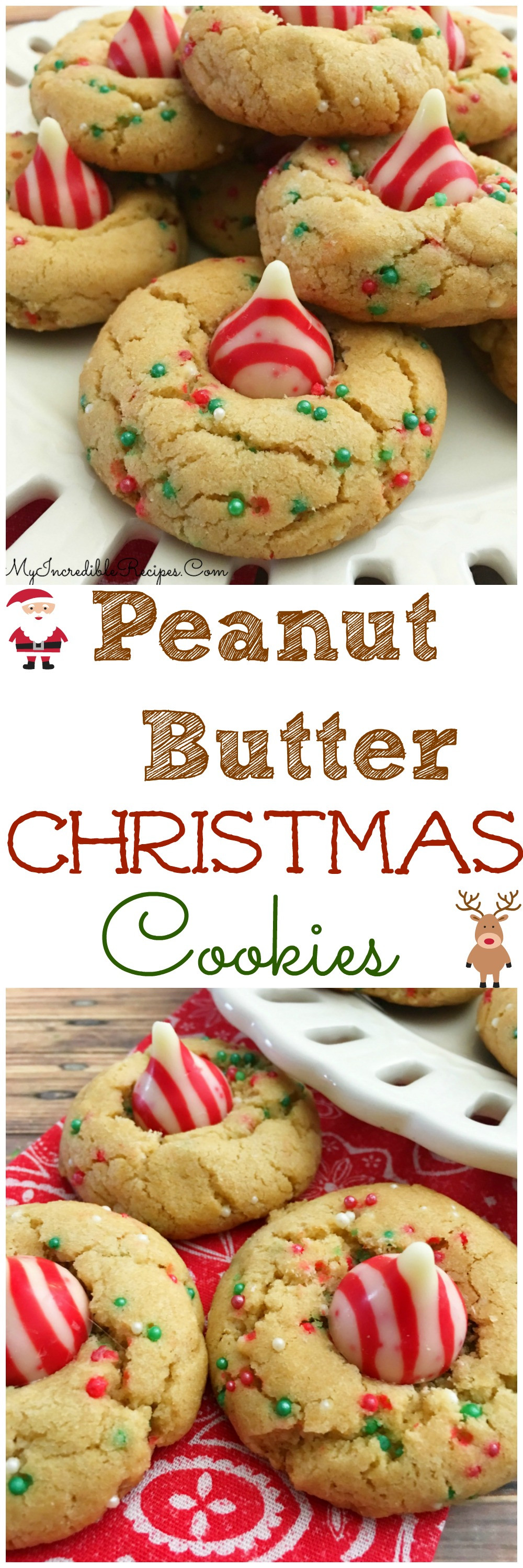 Christmas Butter Cookies  Peanut Butter Christmas Cookies