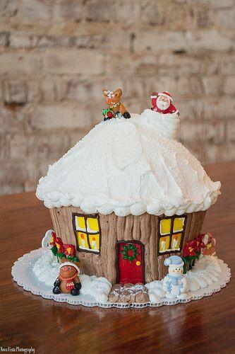 Christmas Cake And Cupcakes  Christmas Cake Ideas