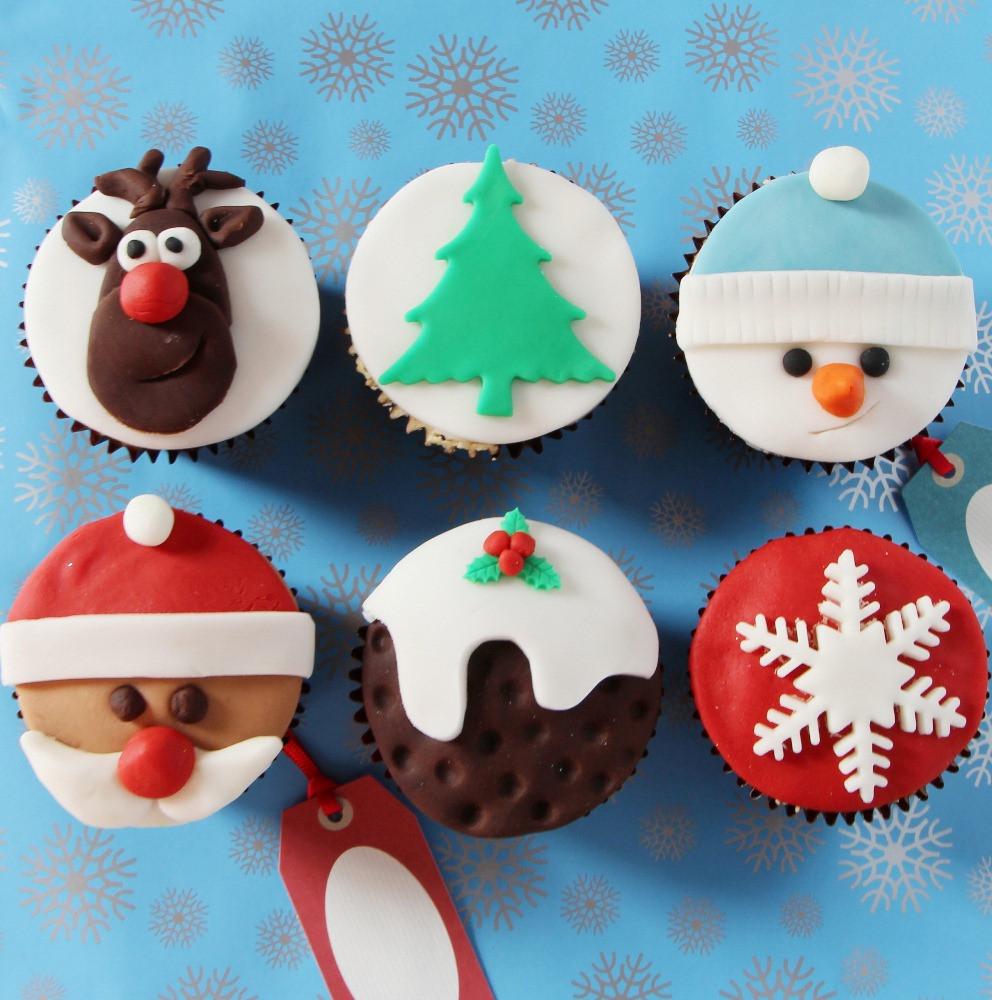 Christmas Cake And Cupcakes  Christmas Cupcake Recipe