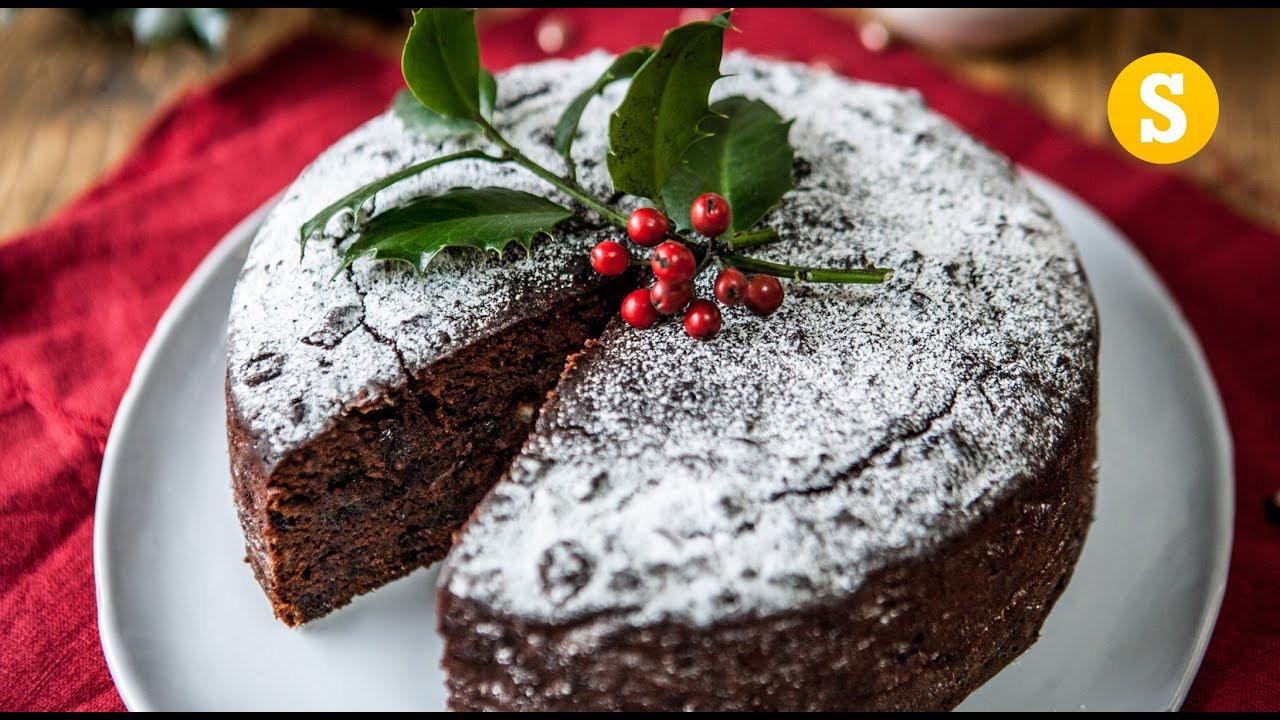 Christmas Cake Recipe  Last Minute Christmas Cake Recipe SORTEDfood