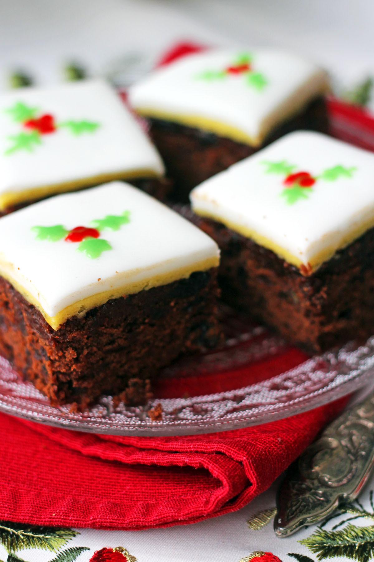Christmas Cake Recipe  Christmas Chocolate and Orange Fruitcake