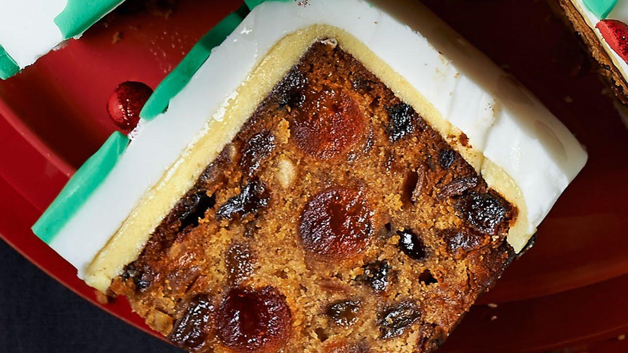 Christmas Cake Recipe  Christmas Cake Recipe Xmas Cake Recipe Easy Fruit Cake