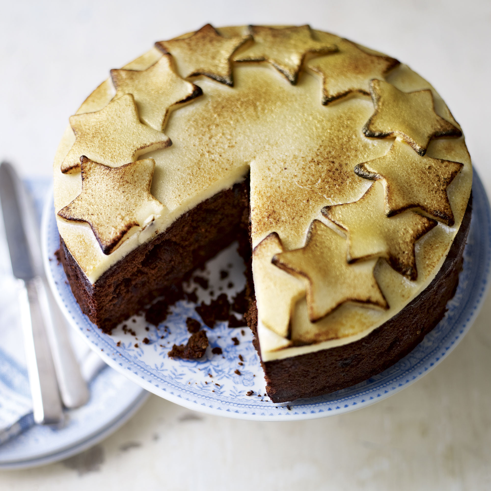 Christmas Cake Recipe  Chocolate Christmas Cake Woman And Home