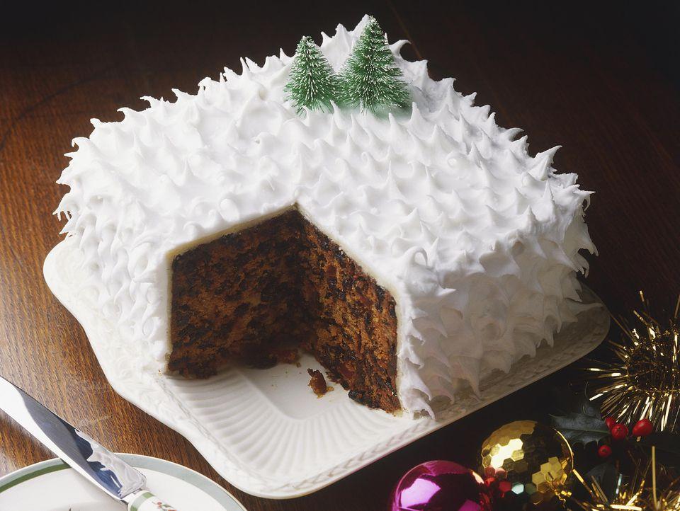 Christmas Cake Recipe  Traditional British Christmas Cake Recipe