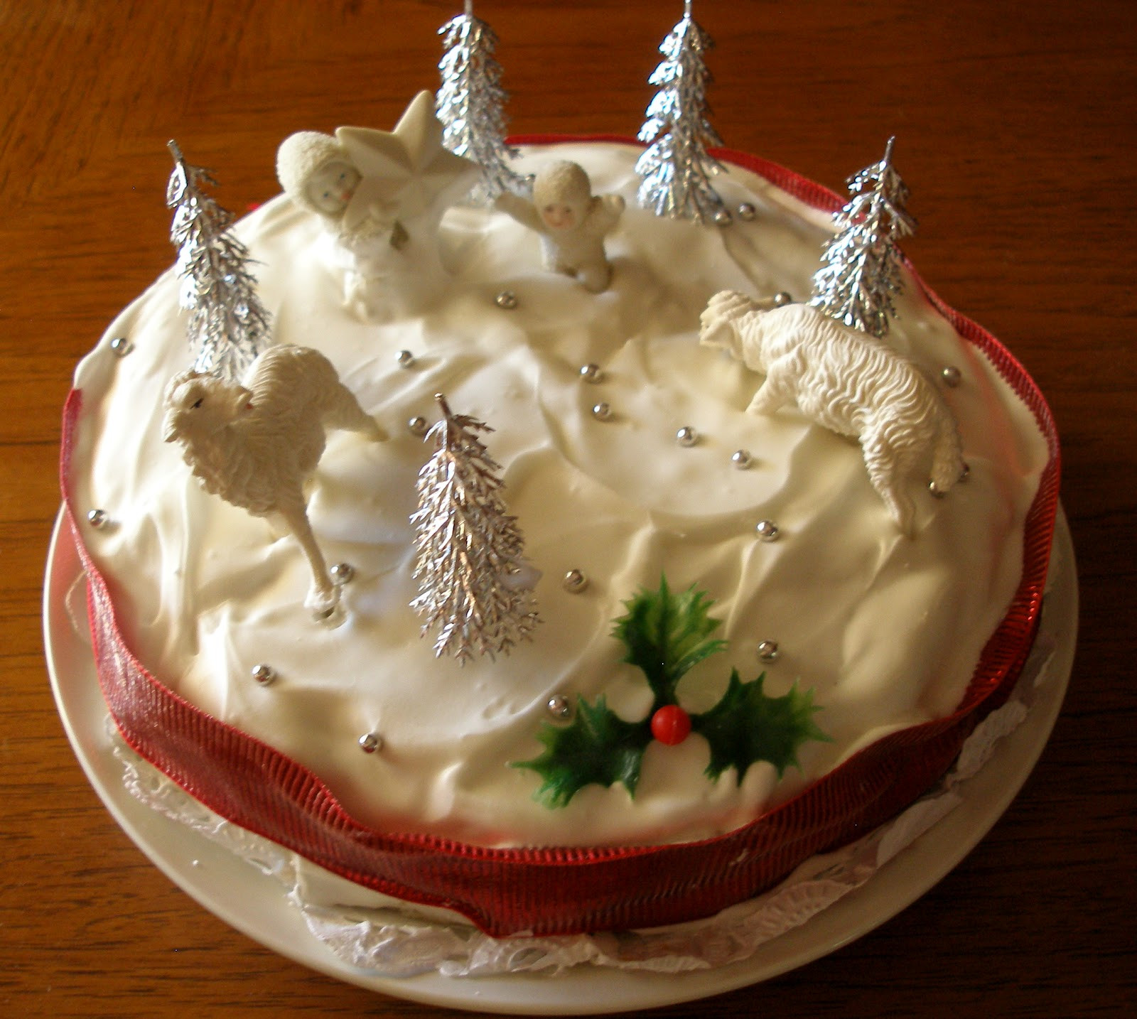 Christmas Cake Recipes  The Knitting Blog by Mr Puffy the Dog A Traditional