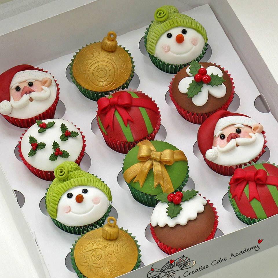 Christmas Cakes And Cupcakes  Christmas Cupcakes Cupcakes