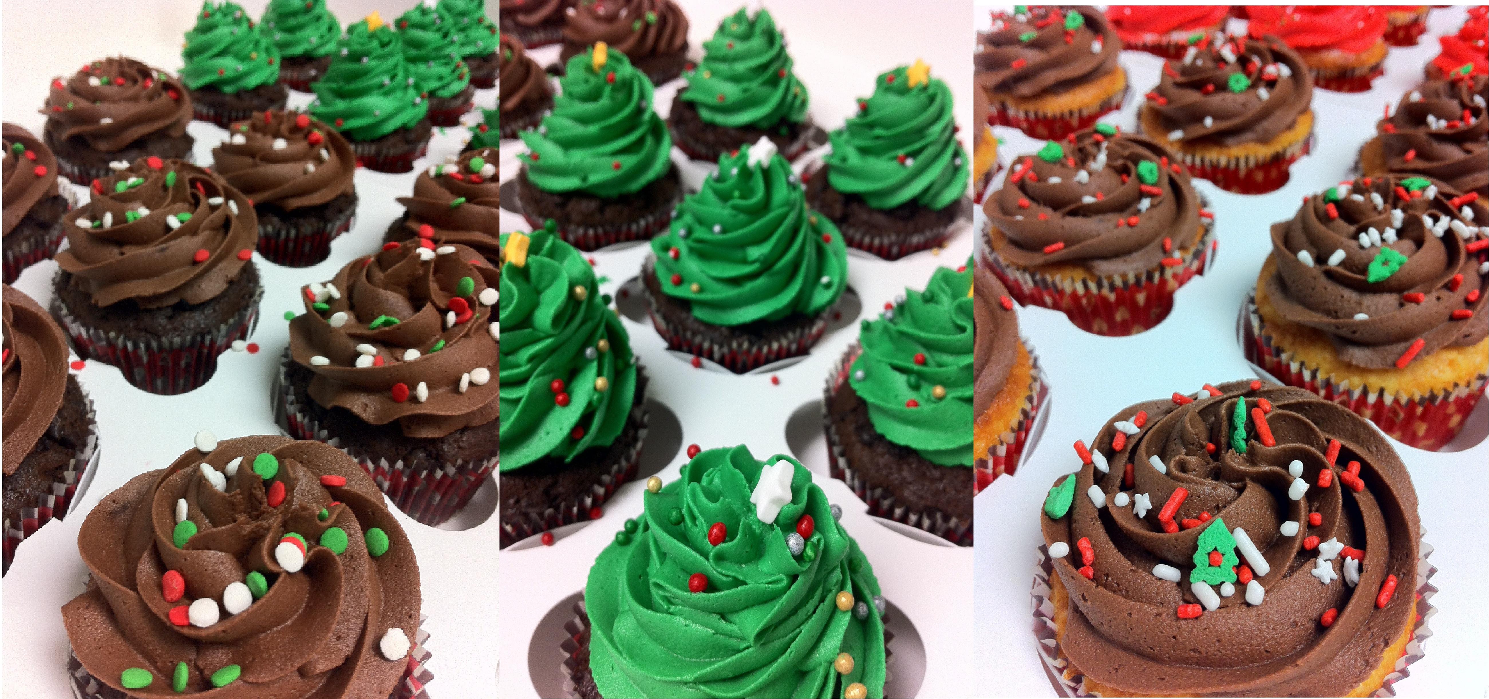 Christmas Cakes And Cupcakes  Merry Christmas Holiday Cakes Chocolate Christmas