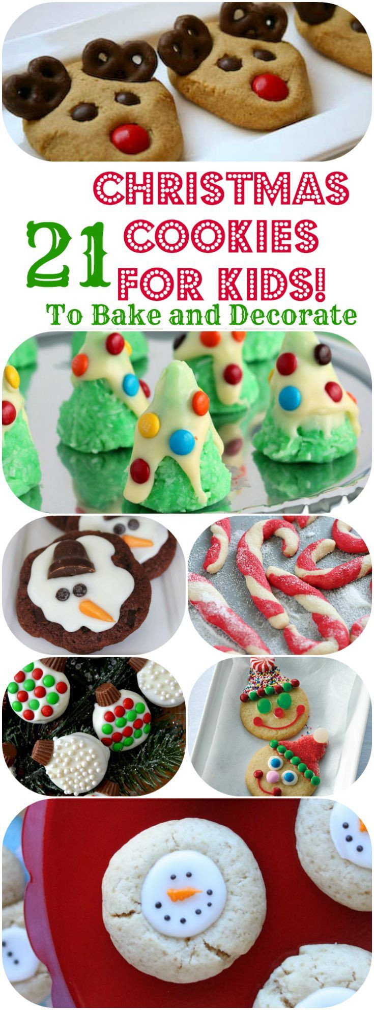 Christmas Cakes For Kids  1000 ideas about Kid Desserts on Pinterest