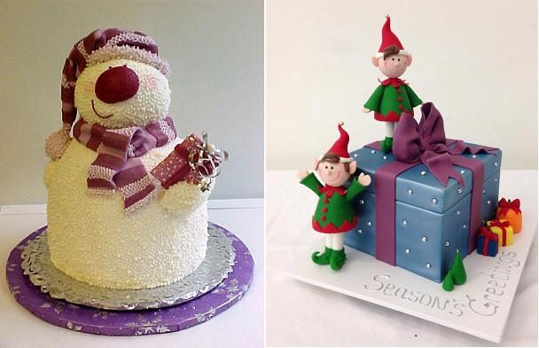Christmas Cakes For Kids  Novelty Christmas Cakes for Kids Cake Geek Magazine