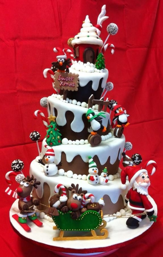 Christmas Cakes Images  Christmas Cake Ideas