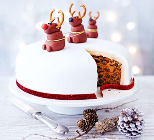 Christmas Cakes Images  Nancy's Rudolph Christmas cake recipe