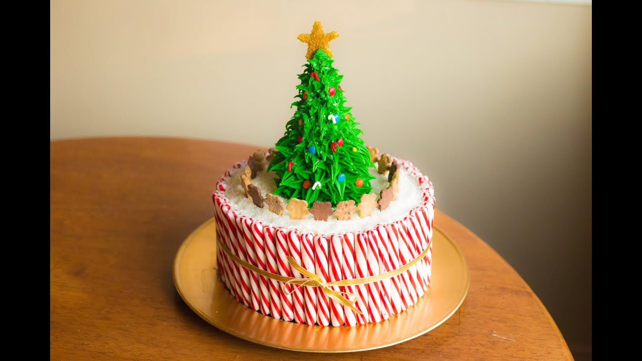 Christmas Cakes Pictures  How To Make A Christmas Cake