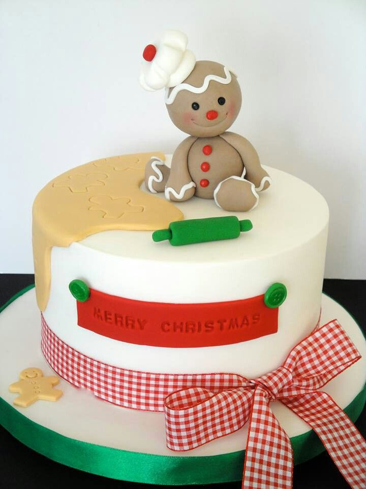 Christmas Cakes Pictures  1000 ideas about Fondant Christmas Cake on Pinterest