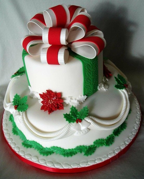 Christmas Cakes Pictures  Best 25 Christmas cakes ideas on Pinterest