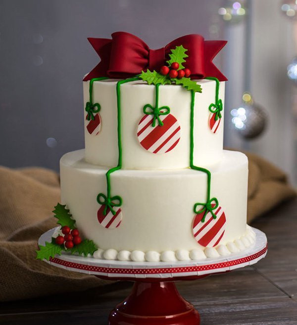 Christmas Cakes Pictures  15 Creative Christmas Cake Decoration Ideas