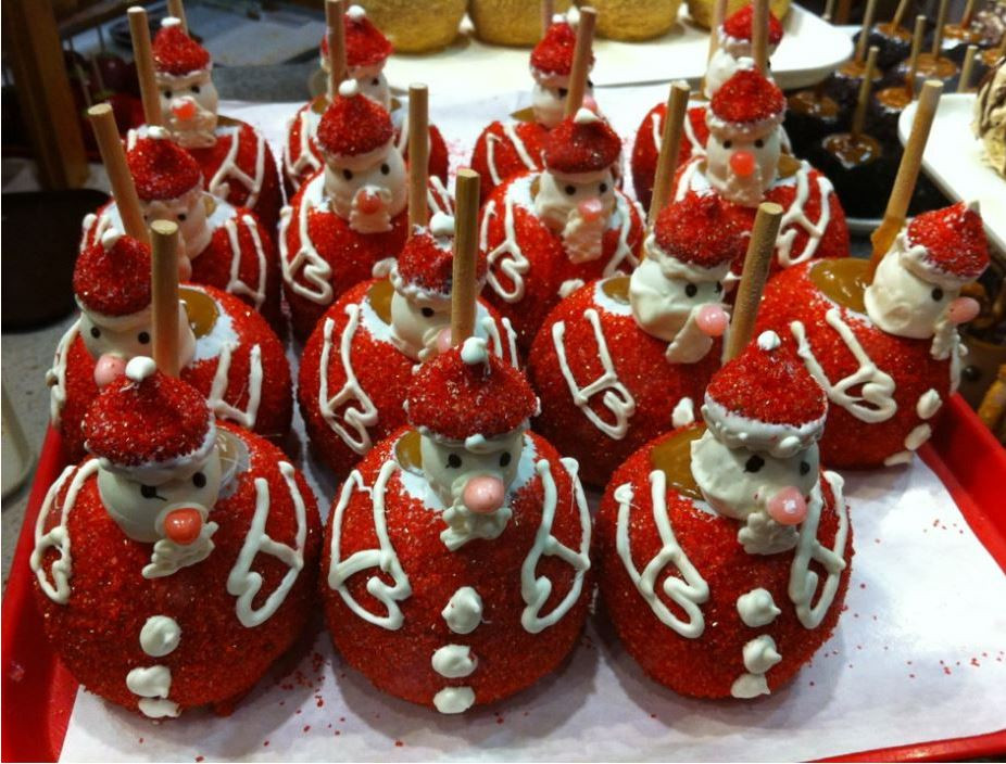 Christmas Candy Apples  Christmas Chocolate Covered Strawberries