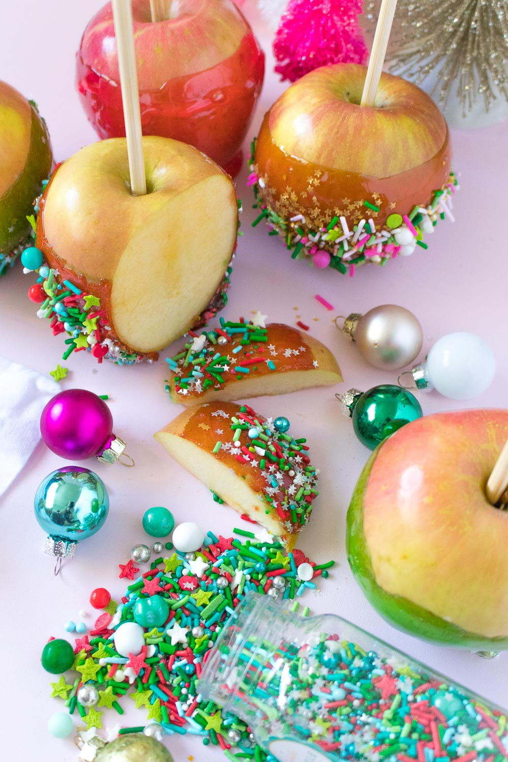 Christmas Candy Apples  Christmas Candy Apples