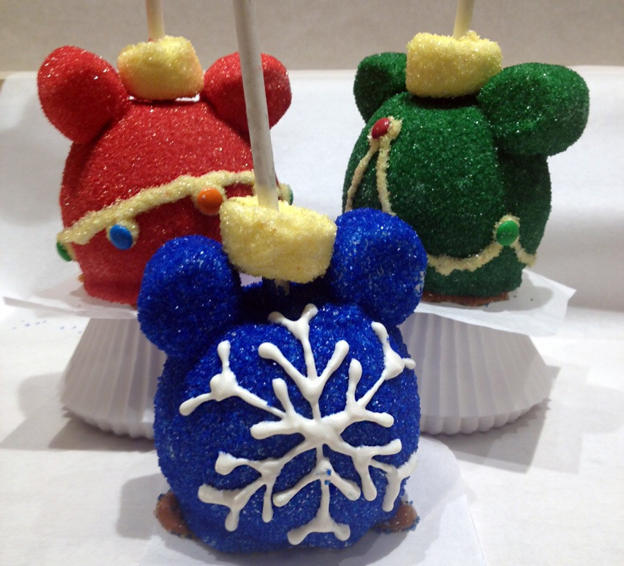 Christmas Candy Apples  Favorite Disneyland Holiday Treats – dezithinks