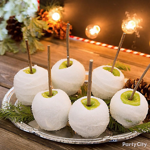 Christmas Candy Apples  Christmas Candy Apple Idea Hot Chocolate Station Ideas
