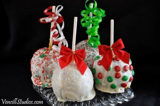 Christmas Candy Apples  Christmas Fancy Candy Apples