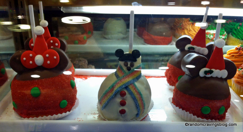 Christmas Candy Apples  Guest Review Mickey's Very Merry Christmas Party Treats
