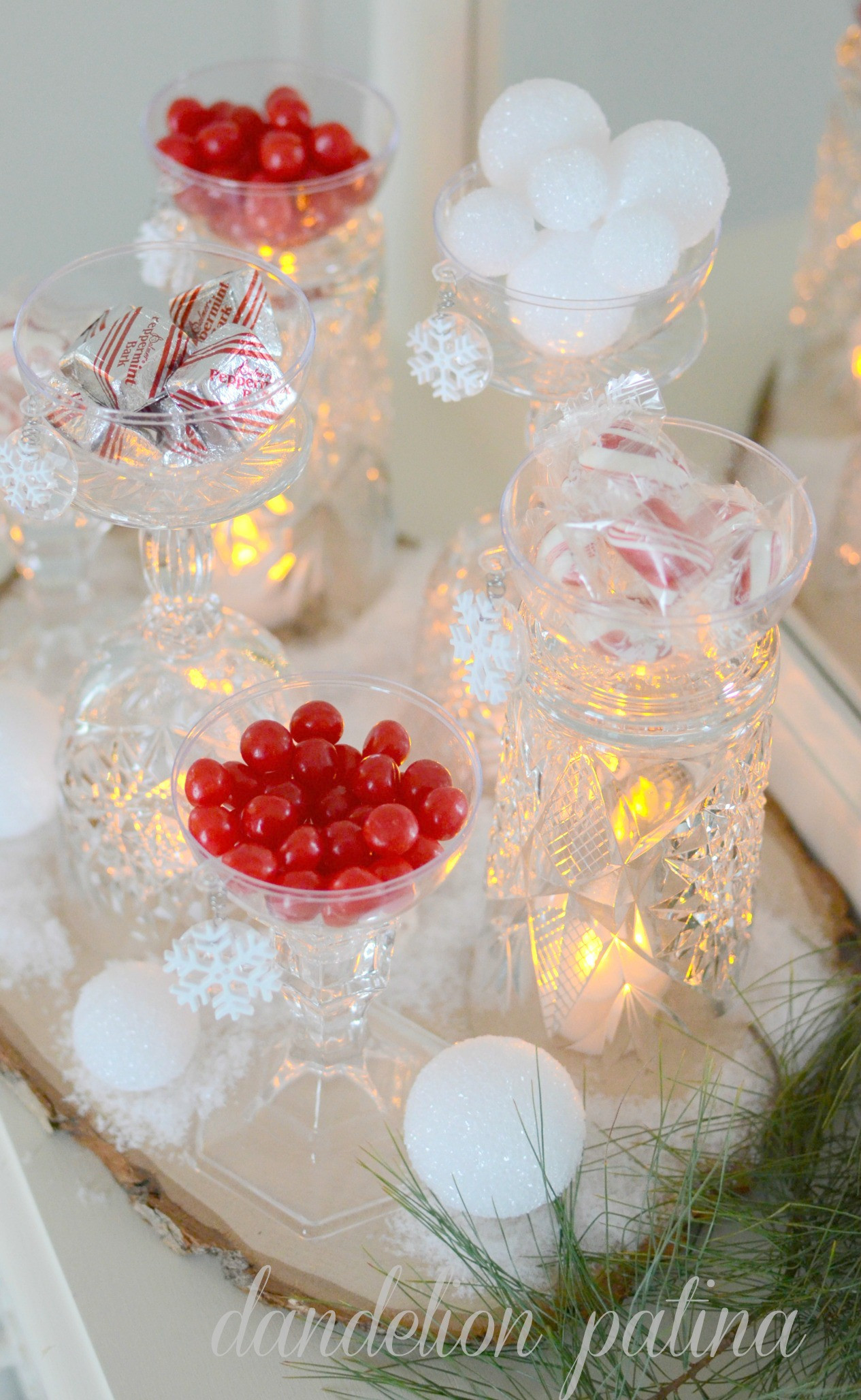 Christmas Candy Bar  Holiday Candy Bar Dandelion Patina