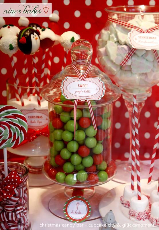 Christmas Candy Bars  Die Weihnachtszeit hat begonnen Weihnachts Candy Bar