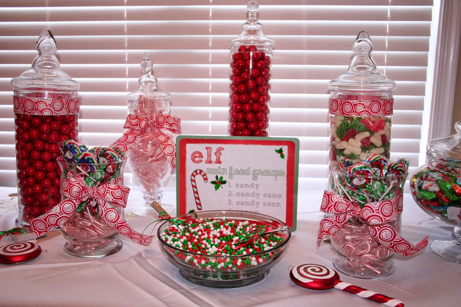 Christmas Candy Bars  Classic Events By Kris Build a Better Candy Bar