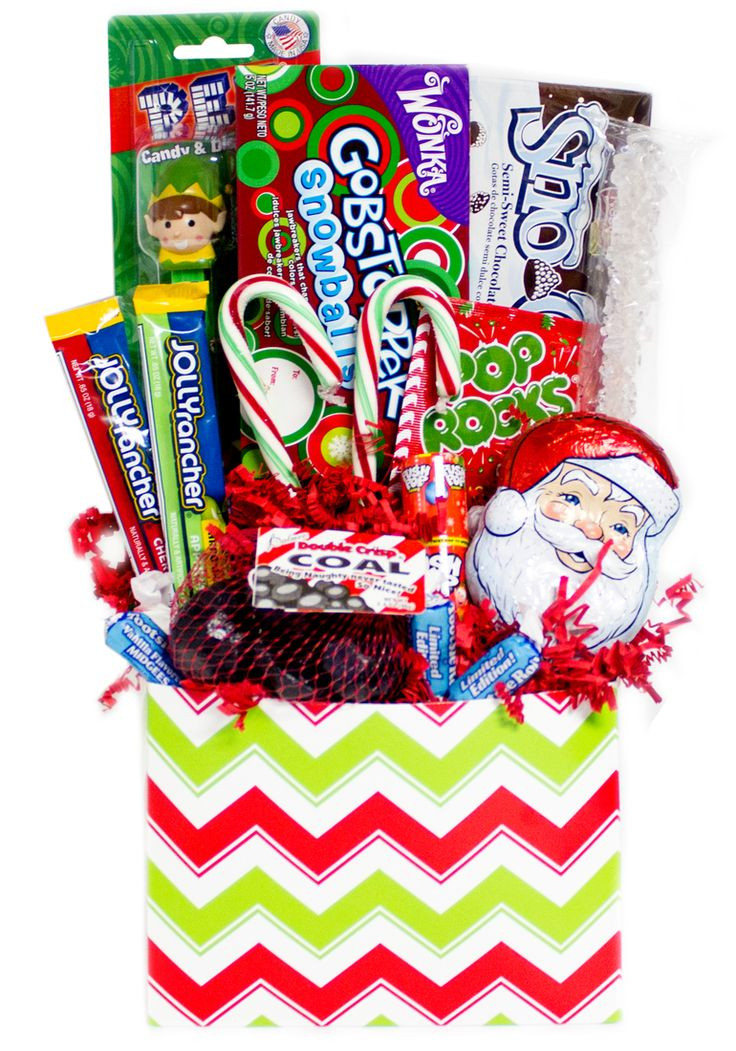 Christmas Candy Baskets  17 Best ideas about Candy Gift Baskets on Pinterest