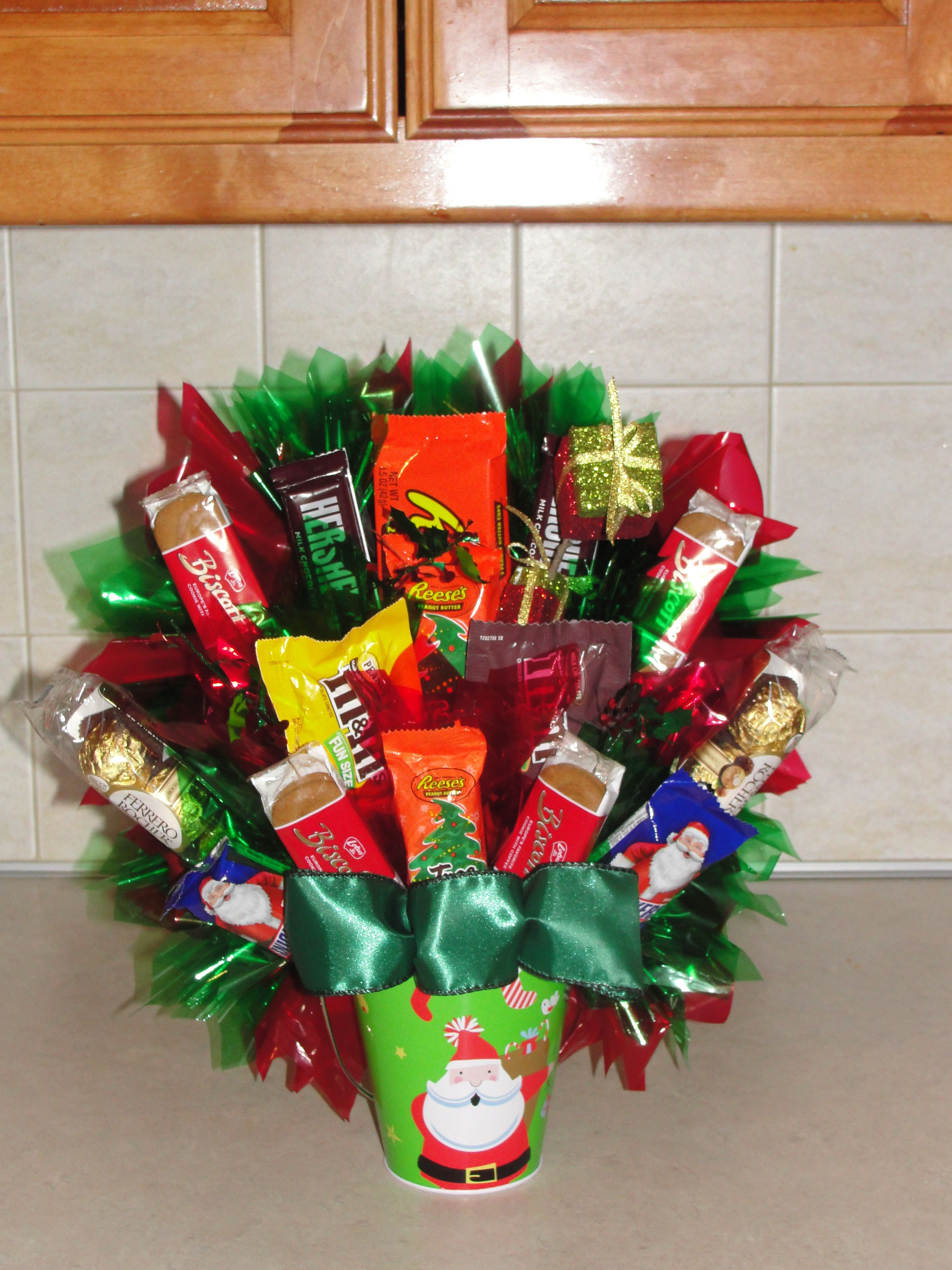 Christmas Candy Baskets  Christmas Candy Bouquets