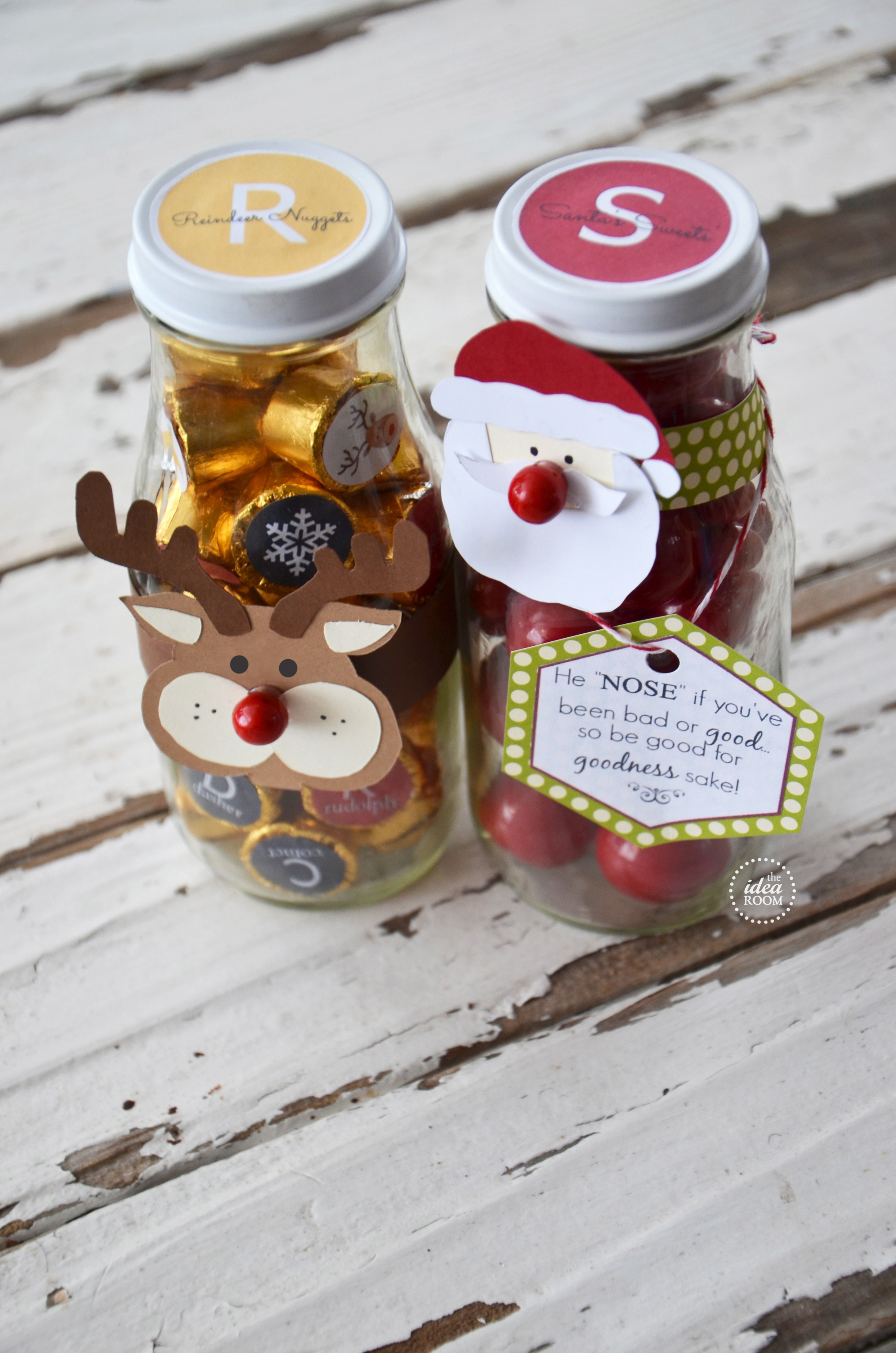 Christmas Candy Baskets  Christmas Candy Gift The Idea Room