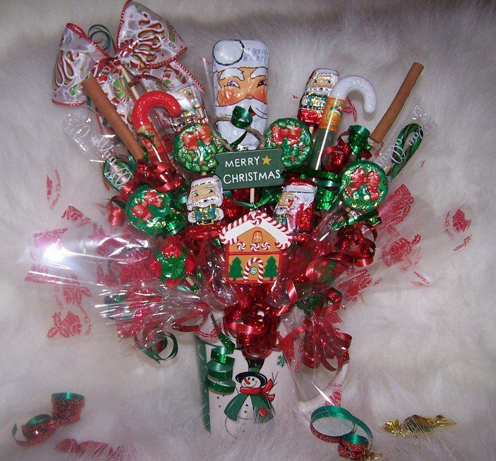 Christmas Candy Bouquets  Christmas Candy Bouquet christmas