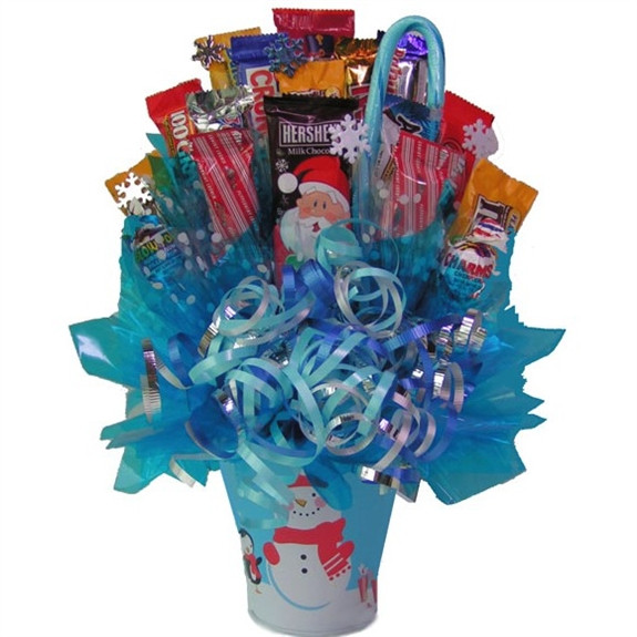 Christmas Candy Bouquets  Holiday Candy Bouquet Candy Gift Bouquet