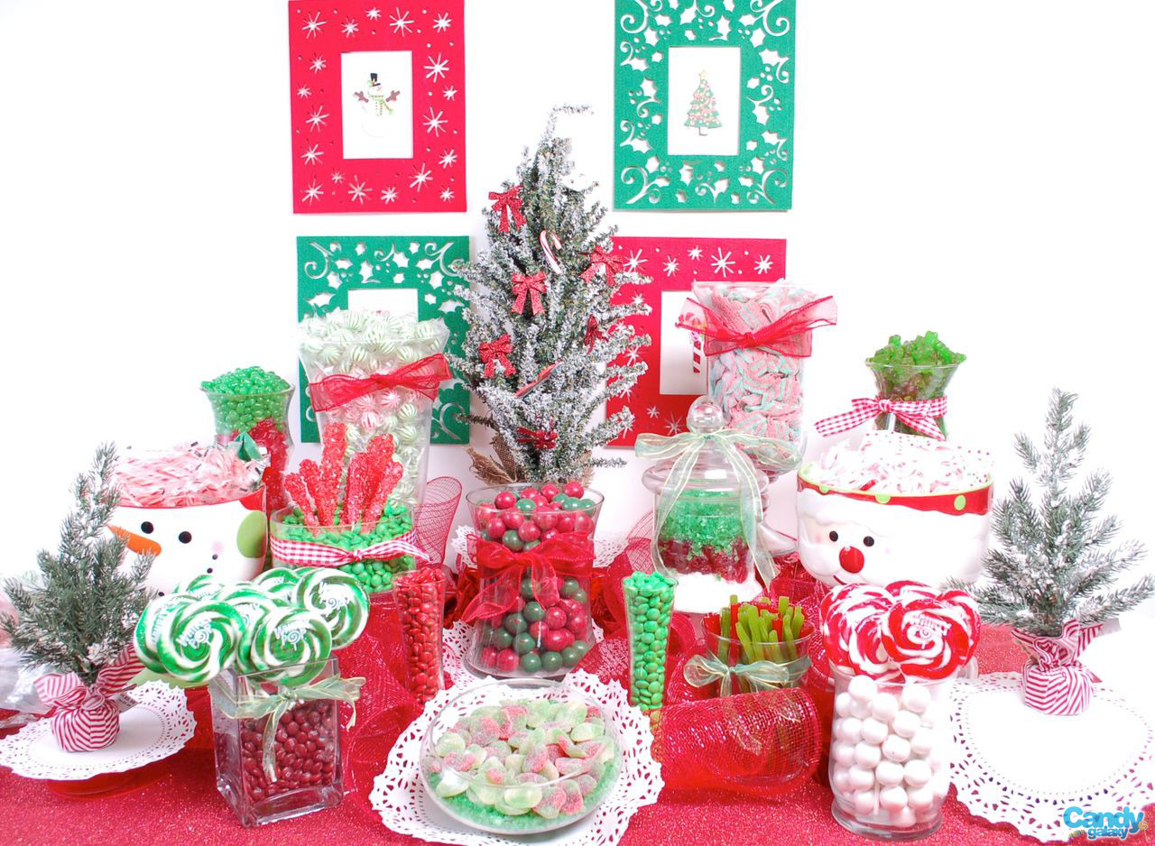 Christmas Candy Buffet  Giveaway A $100 t card to Candy Galaxy Anders Ruff