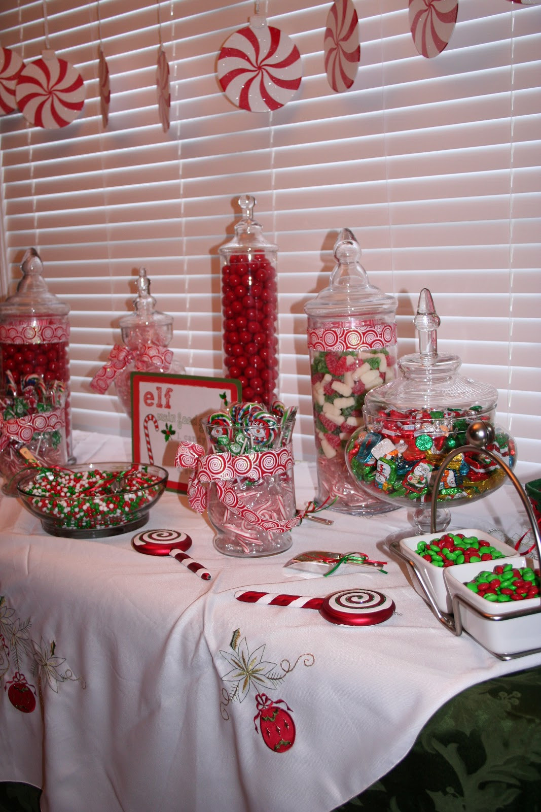 Christmas Candy Buffet  Classic Events By Kris Christmas Candy Buffet