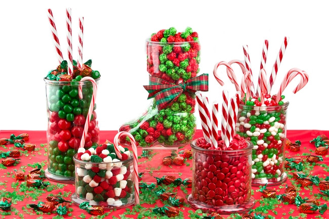 Christmas Candy Buffet  Holiday Family Party Candy Buffet • Oh Nuts