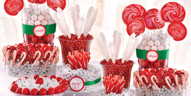 Christmas Candy Buffet  The Twelve Desserts of Christmas LADYHATTAN