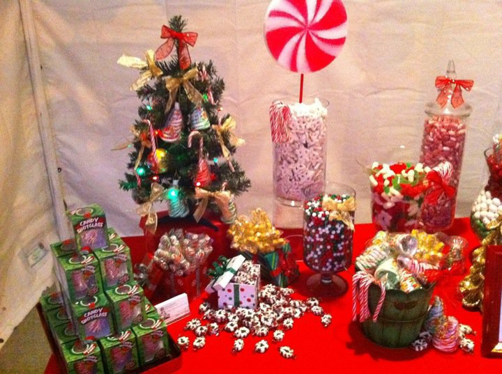 Christmas Candy Buffet  Sweet Sensations Candy Stations Christmas Candy Buffet