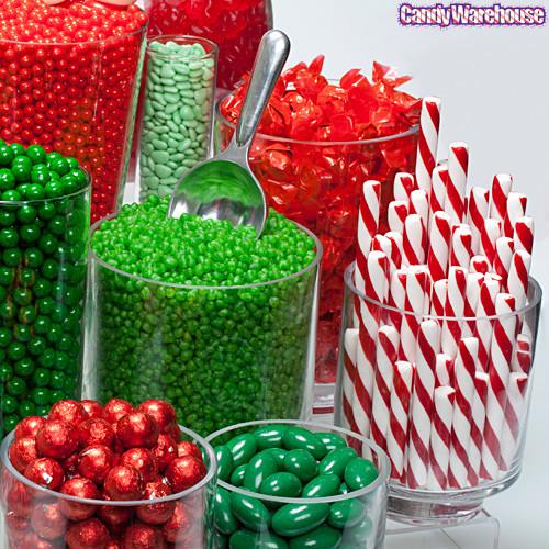 Christmas Candy Buffet  Red & Green Candy Buffet Gallery