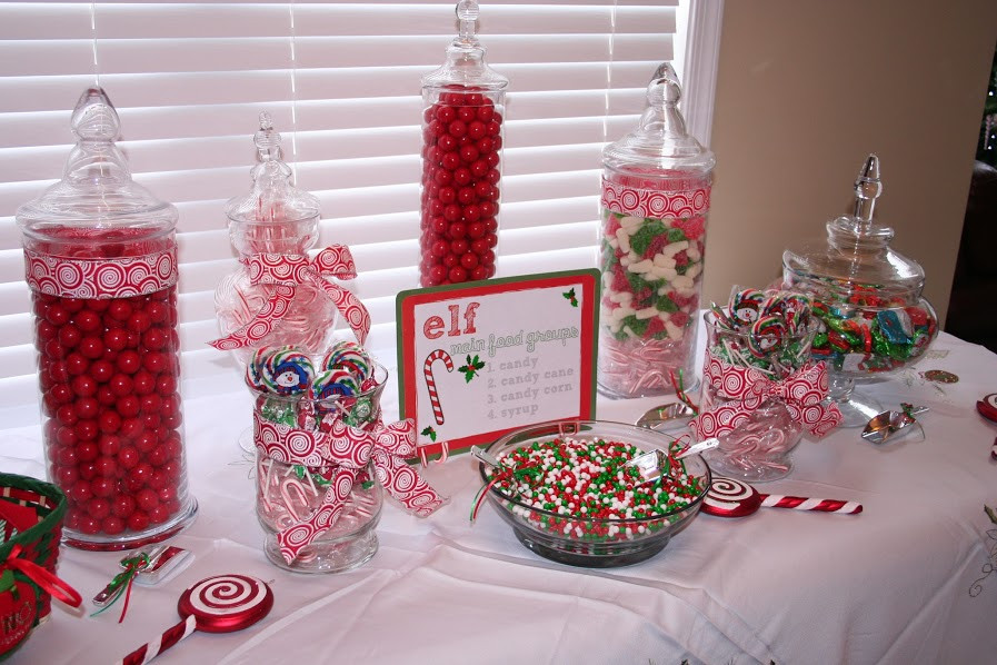 Christmas Candy Buffet  MYENA EVENTS PLANNER Package