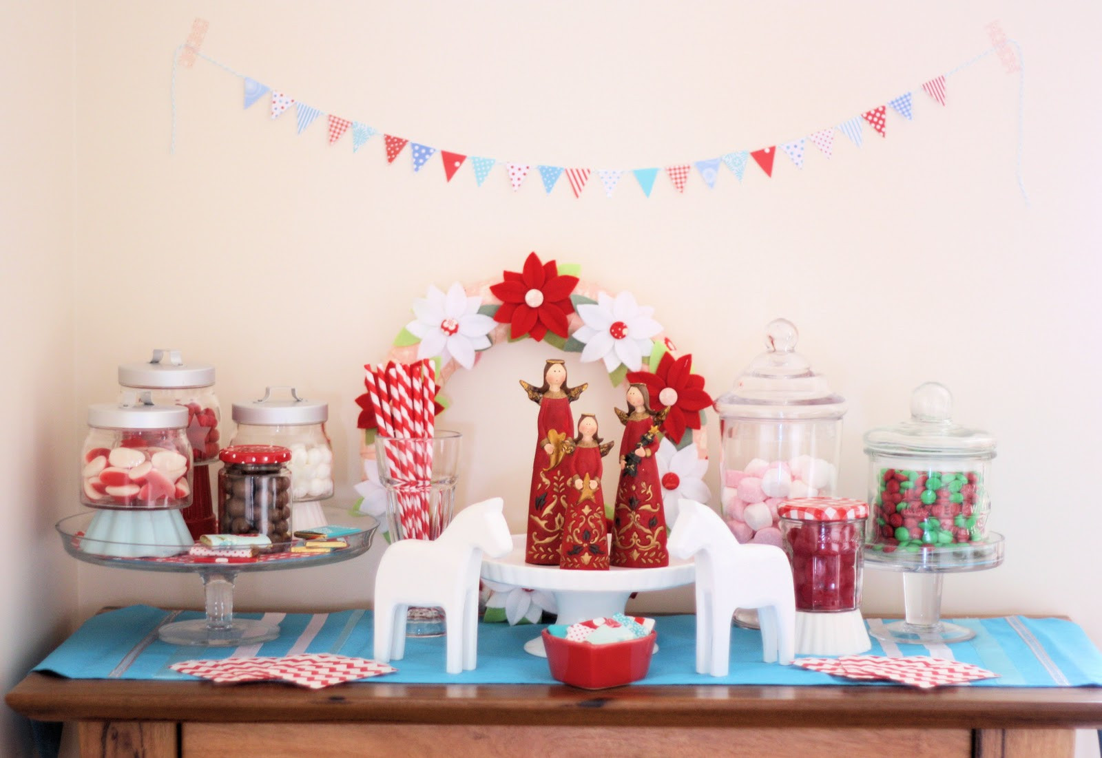 Christmas Candy Buffets  Under the Mistletoe Christmas Candy and Sweet Buffet