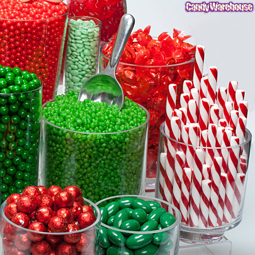 Christmas Candy Buffets  Red & Green Candy Buffet Gallery