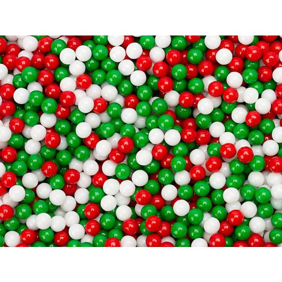 Christmas Candy Bulk  Christmas Petite Jawbreaker Candy Balls 5LB Bag
