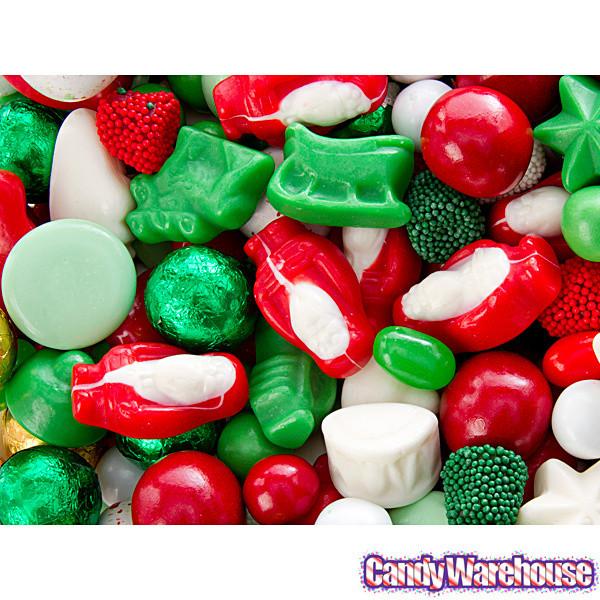 Christmas Candy Bulk  Deluxe Christmas Candy Mix 10LB Case