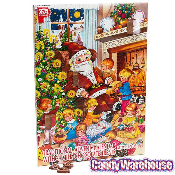 Christmas Candy Calendar  PeA Schokolade Traditional Christmas Chocolate Advent