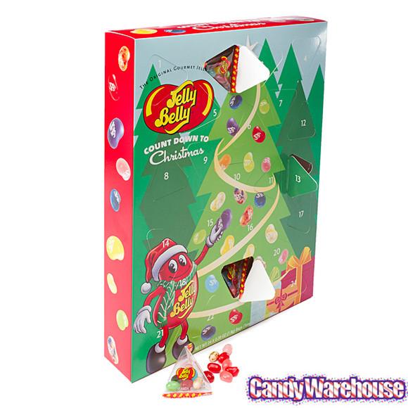 Christmas Candy Calendar  Jelly Belly 24 Piece Advent Calendar