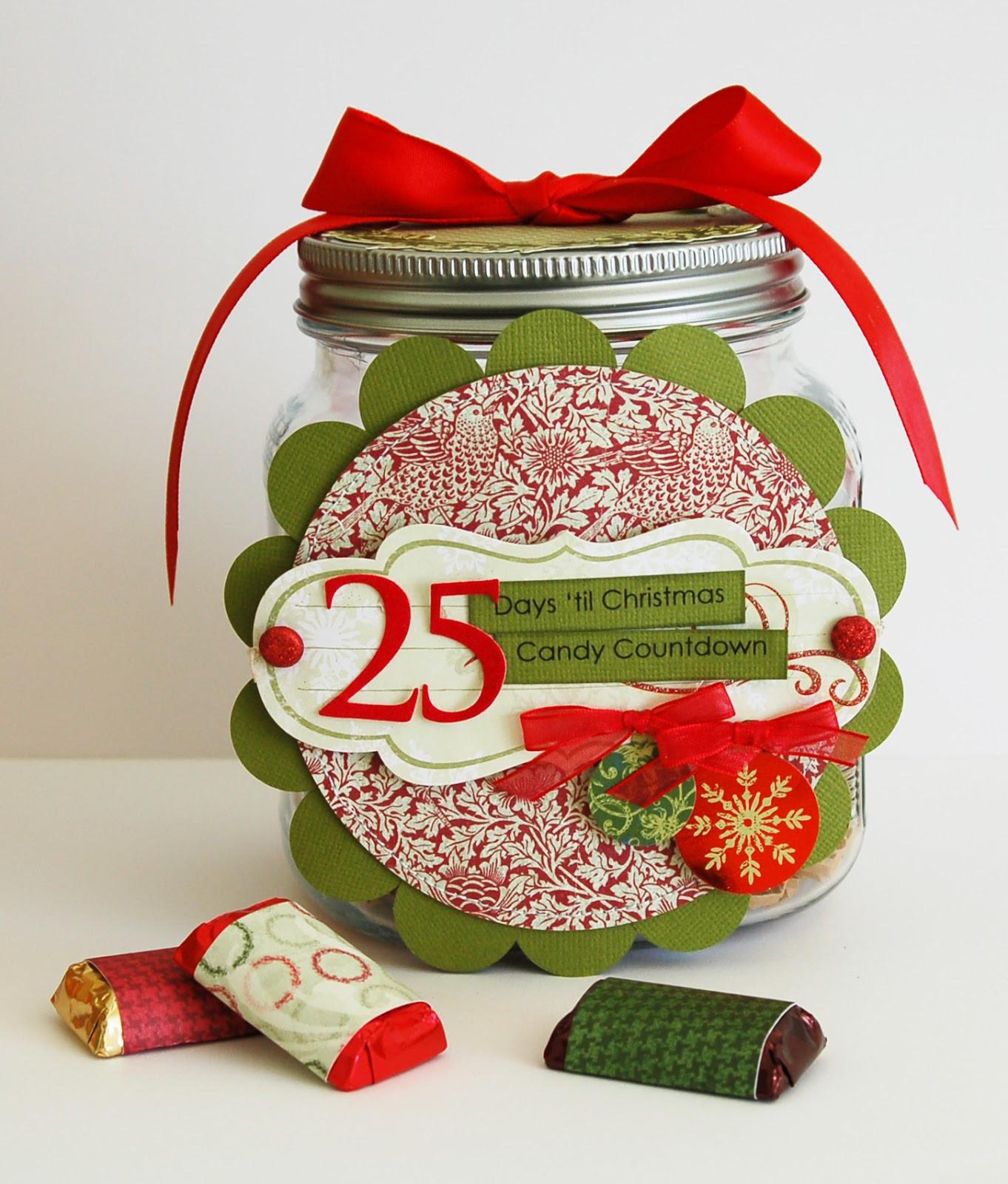 Christmas Candy Calendar  Christmas Candy Countdown Calendar