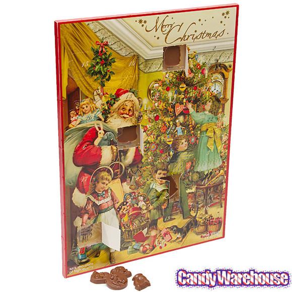 Christmas Candy Calendar  Christmas Nostalgia Chocolate Advent Calendar