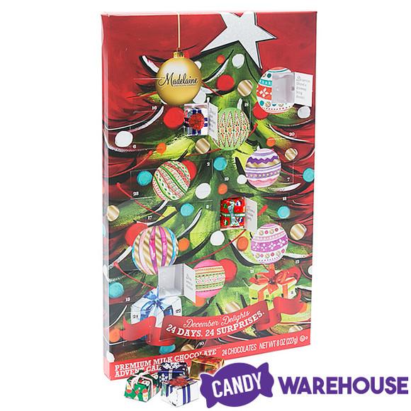 Christmas Candy Calendar  Christmas Tree Chocolate Advent Calendar